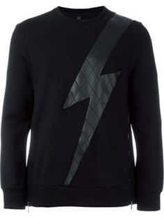 quilted thunder sweatshirt
