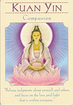 release judgments I just discovered Quan Yin today, November 9, 2014.