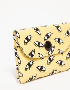 Eyeball Print Cardholder