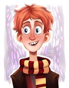Ron Weasley by Crispy ★