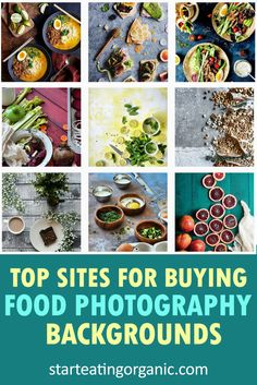 Best Sites to Buy Food Photography Backdrops & Wooden Backgrounds