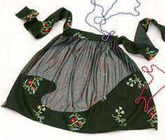 A pretty hostess apron