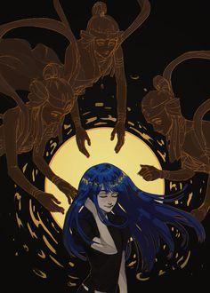land of lustrous Anime Manga, Anime Art, Art Puns, Character Art, Character Design, Dark Artwork, My Demons, Tonne, Art Studies