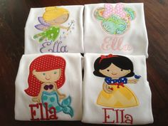 Disney princess shirts