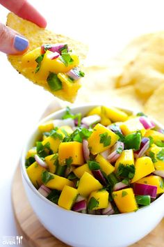 5-Ingredient Mango Salsa