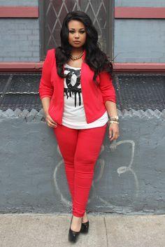 #Plus #Size #Fashion Shirt: iheartposhshoppe.com