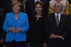 Blog do Arretadinho: Dilma recebe Angela Merkel no Palácio do Planalto