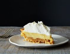 This salty lemon pie recipe made our mouths water just thinking about it! Summer desserts are the best - and this treat is South specific! Bill Smith's Atlantic Beach Pie on 13 Desserts, Summer Desserts, Dessert Recipes, Pie Dessert, Easy Pie Recipes, Sweet Recipes, Lemon Recipes, Cooking Recipes, Atlantic Beach Pie
