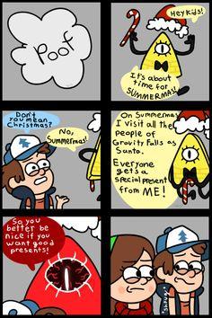 Christmas with Bill Comic by Ice-Fire-Bolt.deviantart.com on @DeviantArt