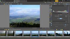 Zoner Photo Studio 17 - Expoziční přechodový filtr