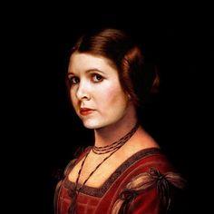 Site publica imagens de Star Wars misturando-se com arte clássica