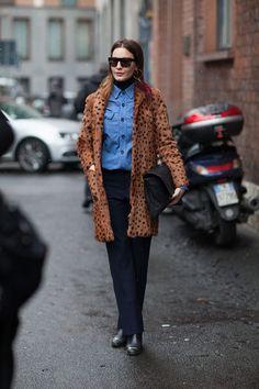 Street Style Milan Fashion Week Fall 2013 - Milan Street Style - Harper's BAZAAR