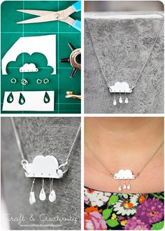 Shrink plastic jewelry - by Craft & Creativity http://craftandcreativity.com/blog/2013/04/23/shrinkplastic/