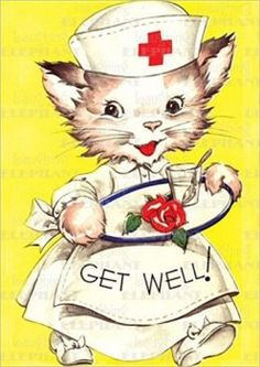 """Funny Get Well Soon E-cards   ... Get Well Soon Sweetheart We have to """"Run Around And Play In The Park"""