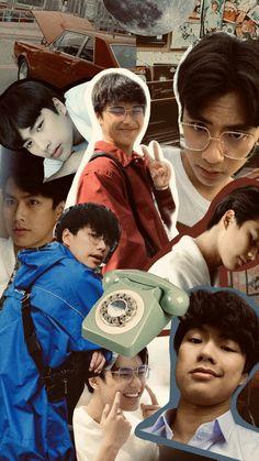 Boys Wallpaper, Wallpaper Quotes, Thai Drama, Asian Boys, Boyfriend Material, Thailand, Guys, Couple Photos, Artist