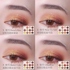 Head to the webpage to learn more on step by step eye makeup Korean Makeup Look, Korean Makeup Tips, Asian Eye Makeup, Eye Makeup Tips, Makeup Inspo, Makeup Inspiration, Beauty Makeup, Cute Makeup, Makeup Looks