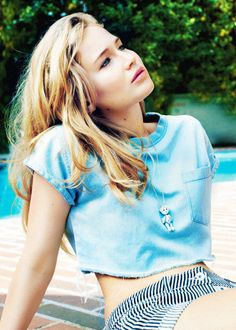 Jennifer Lawrence photographed by Benny Horne for ASOS (2011)