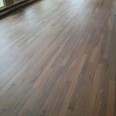 Refinishing Hardwood Floors, Oak Hardwood Flooring, Floor Stain, Floor Finishes, Red Oak Floors, Hardwood Floor Colors, Cottage Homes, House Colors, Floor Rugs