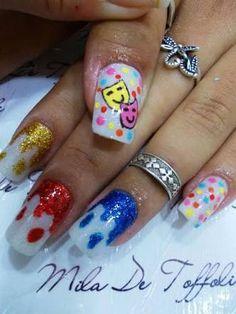 Resultado de imagem Carnal, Nail Art, Nails, Painting, Nail Colors, Nail Design, Art Nails, Nail Bling, Perfect Nails
