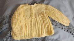 9 mois veste  petite demoiselle sur Etsy.com/ca/fr/shop/TricotsDiahn