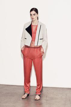 Thakoon Addition Resort 2014 Fashion Show - Josephine Le Tutour