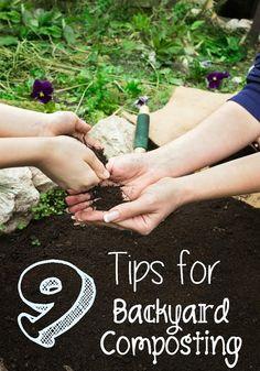 Tips For Backyard Composting - Wendys Hat