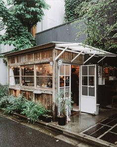 Shozo Coffee Store, Tokyo 📷 (via Where I'd like to be right now Cafe Shop Design, Coffee Shop Interior Design, Small Cafe Design, Restaurant Interior Design, Small Coffee Shop, Coffee Store, Coffee Shop Japan, Cute Coffee Shop, Café Design