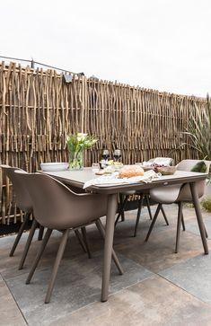 Outdoor Furniture Sets, Outdoor Decor, Small Gardens, Dining Set, Exterior, Studio, Green, Table, House
