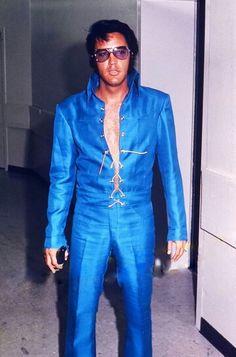 """Elvis - """"Lace-Up Silk Suit."""""""