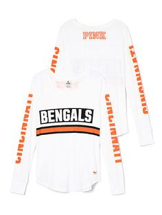 Girls Youth Cincinnati Bengals 5th & Ocean by New Era Pink Floral Tri-Blend T-Shirt