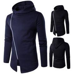 Delicious Mens Fleece Jacket Sports Hooded Top Hoodie Fitness Run Jog Walk Knit Soft Zip Clothing & Accessories