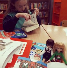Lottie Dolls library books reading girls power friends smart for sale on Little Citizens Win Online, Library Books, Citizen, Girl Power, Books To Read, Playing Cards, Boutique, Dolls, Photo And Video