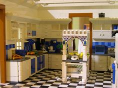 Custom Lego Kitchen - This is the most awesome thing ever!!! MY DREAM