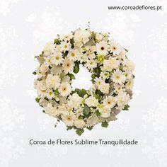 Coroa de Flores Sublime Tranquilidade  #CoroaFlores #Flores  http://ift.tt/23ZwloM