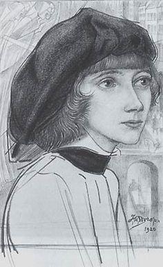 Jan Toorop, Mili Herman - 1920