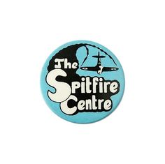 Vintage British Souvenir Badge - The Spitfire Centre
