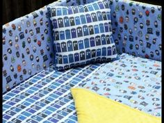 Doctor Who Bedding Set — Crib, Toddler, Twin, Queen, King | Geek-a-bye Baby