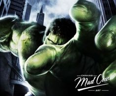 Hulk | Madcowcanvas.co.uk