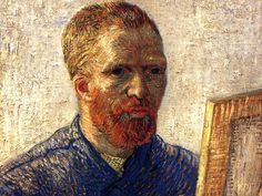 Vincent Van Gogh - Self Portrait as an Artist