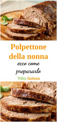 Grandma's Meatloaf recipe and its secret! -The POL recipe-Grandma's Meatloaf recipe and its secret!-La ricetta del POLPETTONE della NONNA … Grandma's Meatloaf recipe and its secret! -Grandma's Meatloaf recipe and its secret! The secret of grandmother's - Beef Skillet Recipe, Skillet Meals, Skillet Recipes, Meatloaf Recipes, Meat Recipes, Chicken Recipes, Recipes Using Ground Beef, Good Food, Yummy Food