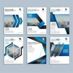 Creative business brochure set, Corporate template layout, Professional flyer design with space to add images. Corporate Design, Flyer Design, Layout Design, Booklet Design, Design Templates, Banner Design, Creative Brochure, Creative Business, Brochure Ideas