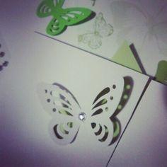 Inviti matrimonio tema farfalle