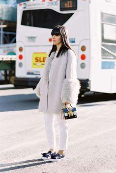 Vanessa Jackman: New York Fashion Week AW 2015....Laura