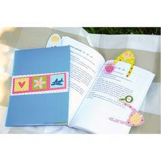 Kreatywna zakładka do książki dla najmłodszych czytelników :)  http://www.mojebambino.pl/ozdobne-papiery-tektury-bibuly/231-zestaw-fantazja.html?search_query=307042&results=1