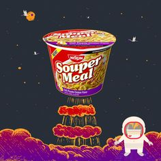 Souper Meal's taste is out of this world.
