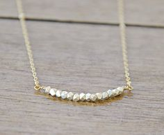 Silver and Gold Necklace