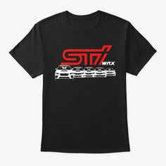 SUBARU Logo Ladies Womans Starcluster Tank Tee T Shirt Impreza Sti Outback Forester WRX Official Genuine Large