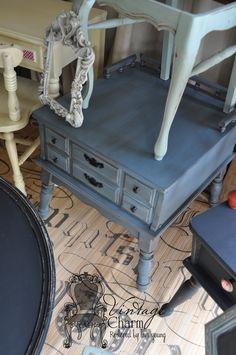 In Autentico Chalk Paint Deep Blue (= Maison Blanche)