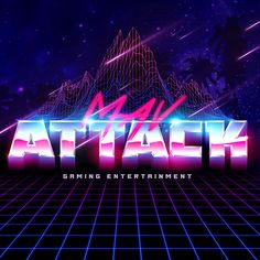 Mav Attack - Logo + Graphics on Behance