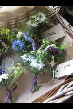love these colors and flowers but more for use in a wrist corsage and bump up the scale.